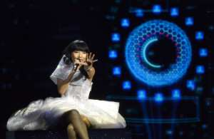 Dami Im representing Australia with  the song